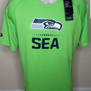 NWT Seattle Seahawks Combine shirt